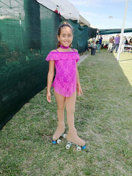 Body gara usato Bambina 8/9 anni color fuxia.